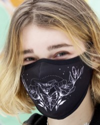 poster for Kootenay Art Face Mask - 'Dreamer' by Alex Moon